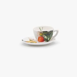 tazza da tè con piattino
