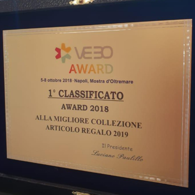 VEBO Award 2018, 1° classificato