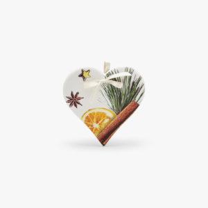 cuore ceramica decorazione